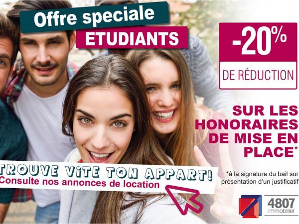 réduction honoraires location pour étudiants