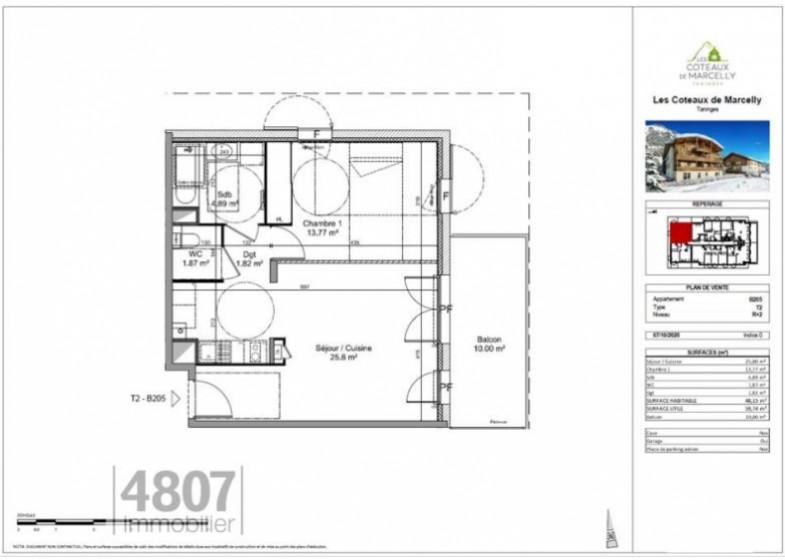 Appartement T2 à vendre à Taninges