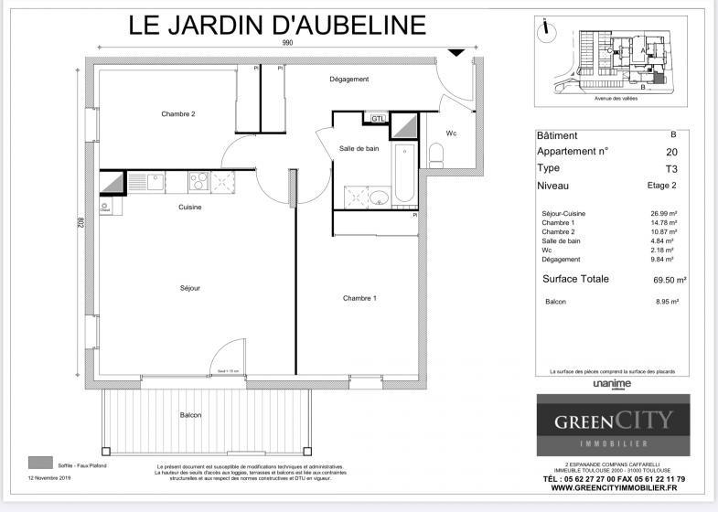 Appartement T3 à vendre à Thyez