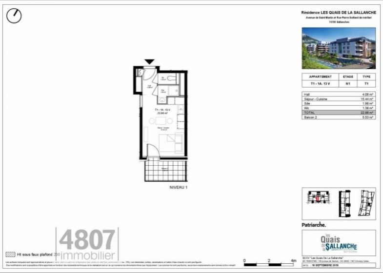 Appartement T5 à vendre à Sallanches
