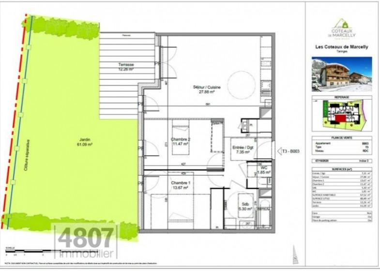 Appartement T3 à vendre à Taninges