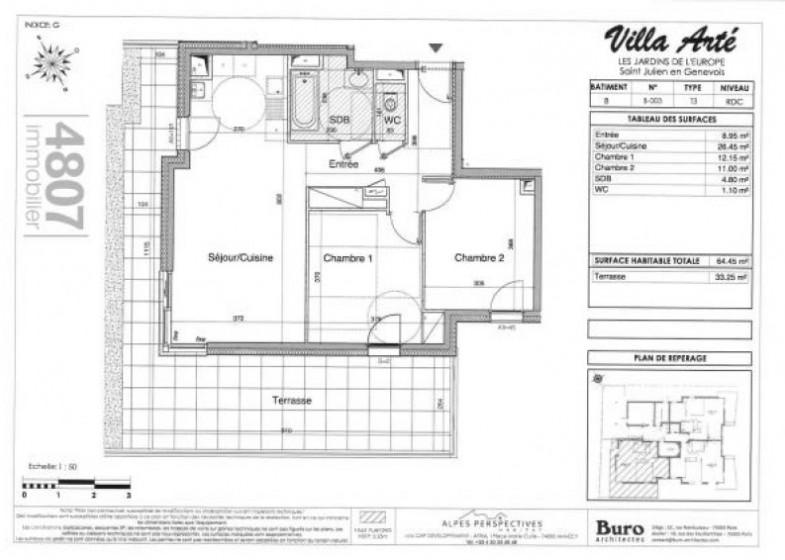 Appartement T3 à vendre à Saint Julien En Genevois