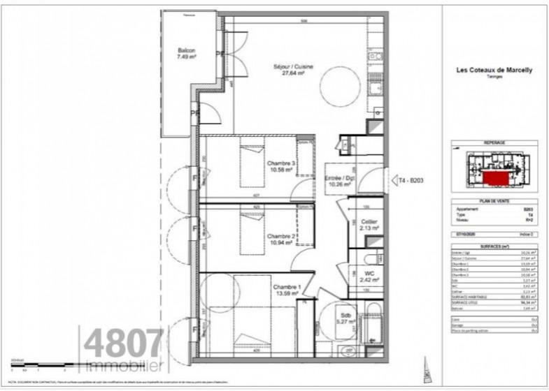 Appartement T4 à vendre à Taninges