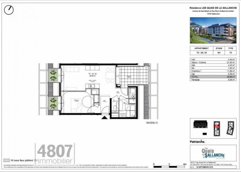 Appartement T2 à vendre à Sallanches